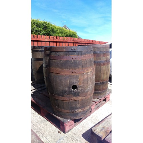 Reclaimed Whiskey Barrels - Order Quantity 3