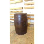 Reclaimed Whiskey Barrel - Polished & Varnished